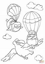 Coloring Flying Sky Albatross Pinguins Pages Fly Curious Animals Printable Tales Learned Template Drawing Books Calendars Through Supercoloring sketch template