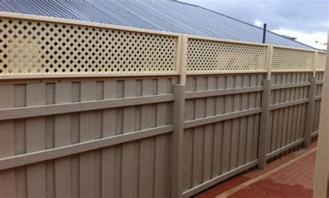 galvanised fence posts bunnings fences design