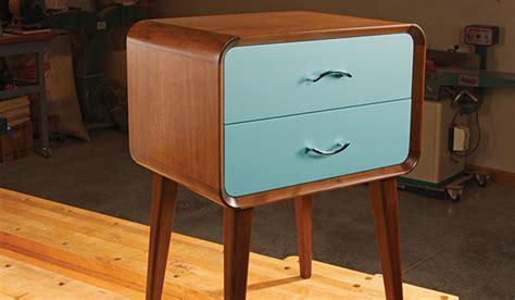 Midcentury Modern Nightstand  Woodworking Blog