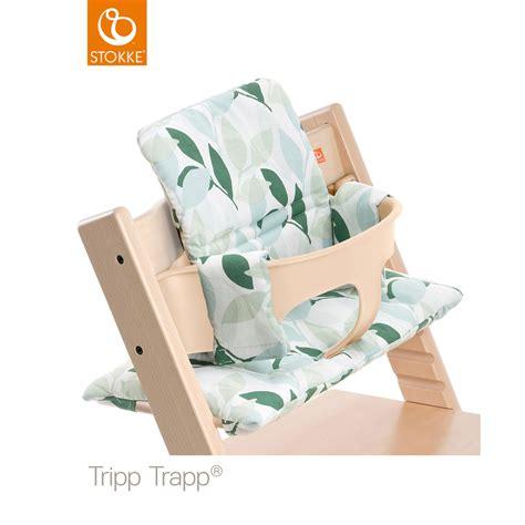 siege tripp trapp coussin fauteuil bébé tripp trapp vert forêt de stokke en