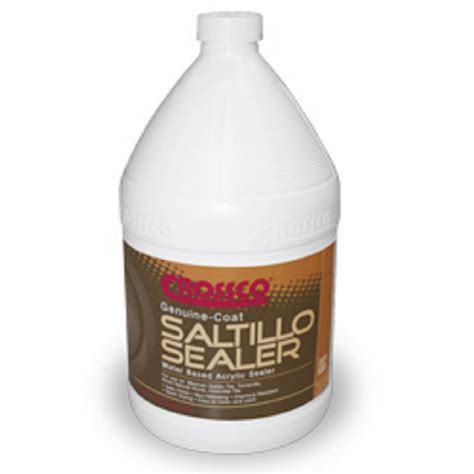 saltillo tile sealer home depot crossco genuine coat 1 gal saltillo sealer gc095 4 the