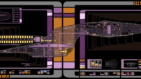 star trek   generation voyager final schematics
