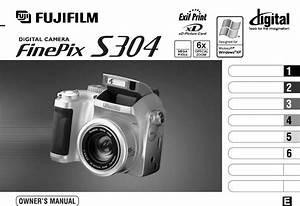 Fujifilm Digital Camera Finepix S304 User Guide