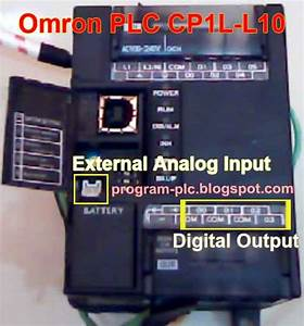 Battery Level Indicator Using Plc With Analog Input Plc