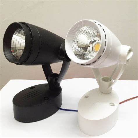 free shipping angle adjustable 3w 5w 7w cob led mounted ceiling spot light home decor wall l