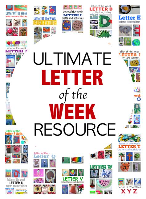 letter of the week crafts 371   letter of the week curriculum for preschool