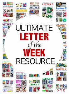 letter of the week crafts With letter of the week preschool curriculum
