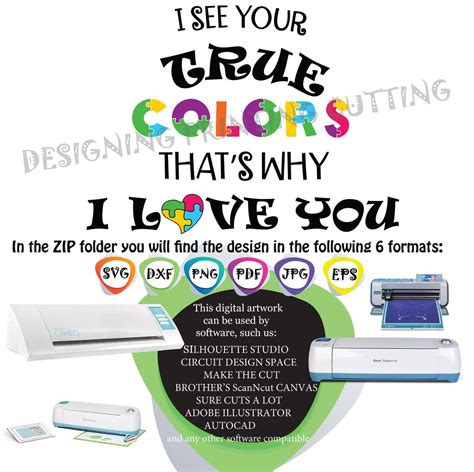 Svg cut files are a graphic type that can be scaled to use with the silhouette cameo or cricut. AUTISM SVG-Cut Files-AWARENESS Svg-Autism Quote Svg-Autism ...