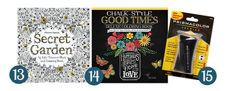 15 amazing gift ideas for adults who love coloring books