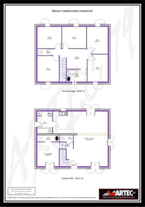 plan maison 100m2 4 chambres plan maison 100m2 4 chambres etage