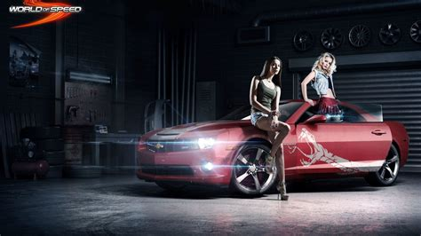 wallpaper world  speed game girls camaro games
