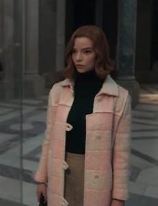 The Queen S Gambit Beth Harmon Pick Coat H Jackets