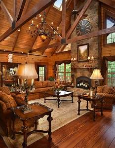 22 Luxurious Log Cabin Interiors You HAVE To See - Log