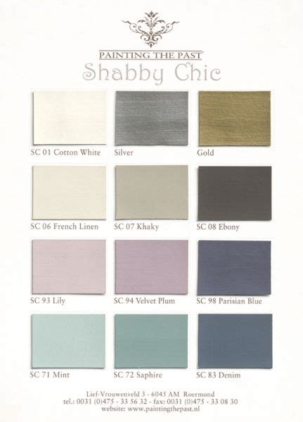 shabby chic color palette shabby chic colors new house pinterest