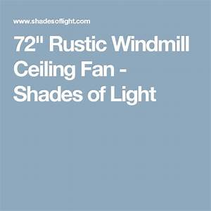 Ceiling fans shades and ceilings on