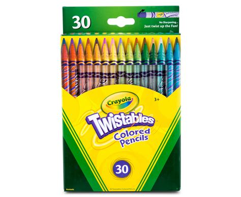 Crayola Twistables Colored Pencils 30-pack