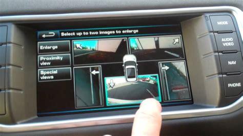 surround camera system    range rover evoque youtube