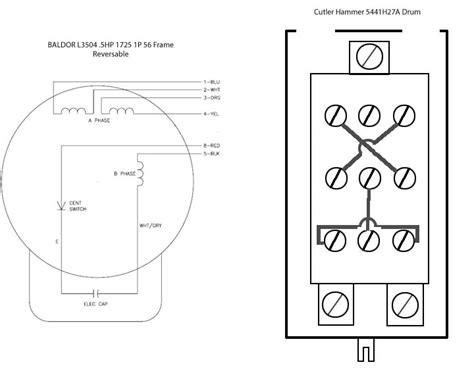 Wiring Help Needed Baldor Cutler Hammer Drum Switch