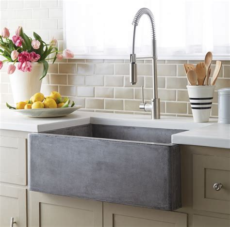 farmhouse sink options  kitchen homesfeed