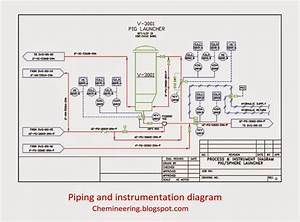Piping And Instrumentation Diagram By Chemineering