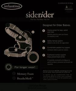 Side Rider Baby Carrier I Manuals