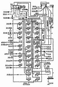Volvo 960  1993 - 1994  - Fuse Box Diagram