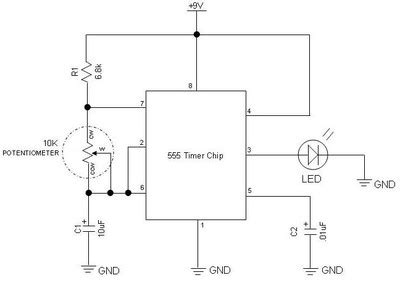 Circuit Analysis Timer Output Current Electrical