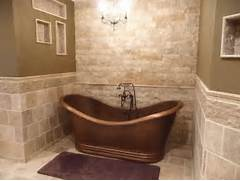 Photo Stone Tile Bathrooms Stone Tile Bathroom Bathroom Floor Tile Floor Tile Glass Tile