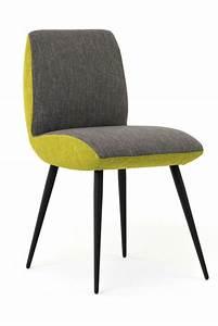 Chaise Scandinave Verte : chaise design verte contemporain noir fly grises celebre ~ Teatrodelosmanantiales.com Idées de Décoration