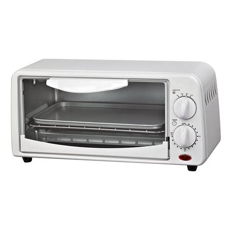 White Digital Toaster Oven by Courant Compact Toaster Oven White