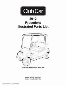 2012 Club Car Gasoline  U0026 Electric Precedent Golf Cart