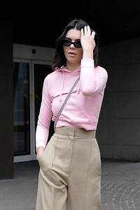 Kendall Jenner Chic Street Style - Steps out in Milan Italy 2/23/ 2017