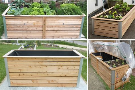 Für Hochbeet by Hochbeet Kr 228 Uterbeet Terrassenbegrenzung Aus Holz