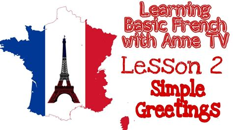 LEARN BASIC FRENCH FOR BEGINNERS: Simple Greetings in ...