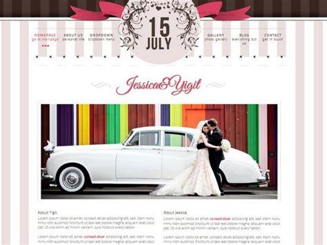 20 Best Wedding Website Templates (css/html & Wordpress