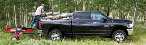 weight   dodge ram  hold   bed