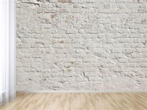 white washed brick peel  stick wallpaper adhesive