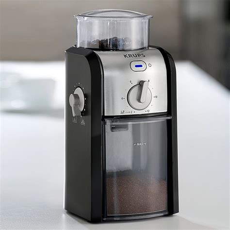This krups gvx231 grinder has safety buttons to try and protect us from hurting our fingers. Krups Stainless Steel Coffee Grinder   GVX231   Euronics Ireland