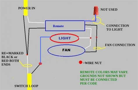 ceiling fan remote   wires doityourselfcom
