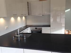Granit Arbeitsplatte Reinigen : nero assoluto satiniert reinigen wohn design ~ Indierocktalk.com Haus und Dekorationen