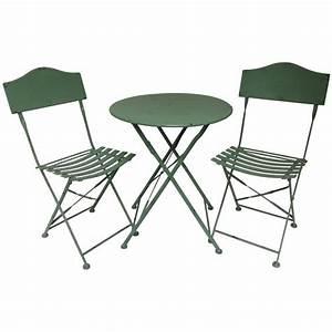 Table Et Chaise Bistrot : chaise table jardin meuble exterieur pas cher reference ~ Teatrodelosmanantiales.com Idées de Décoration