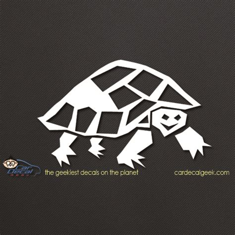 awesome turtle car window windshield decal sticker reptile decals