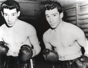 Ronnie and Reggie Kray Twins