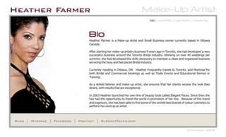 professional makeup artists websites artist bio exles quotes
