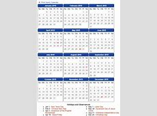 Free Indonesia Calendar 2019 Template PDF, Excel, Word