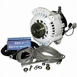 Balmar Volvo  Atomic 4 Engine 70 Amp  12 Volt Alternator