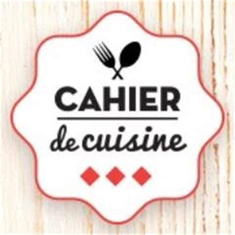 cahier de recette de cuisine cahier de cuisine cahierdecuisine