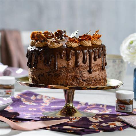 Nutella®-Torte - Rezept von Backen.de