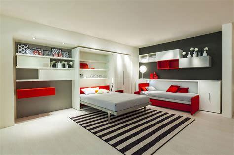 Letto A Scomparsa Con Divano Ikea 2015 Con Divano Letto : Teen Transformable Modular Furniture From Clei