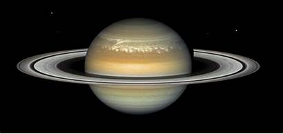 Saturno Saturn Planet Gifs Animated Turning Space